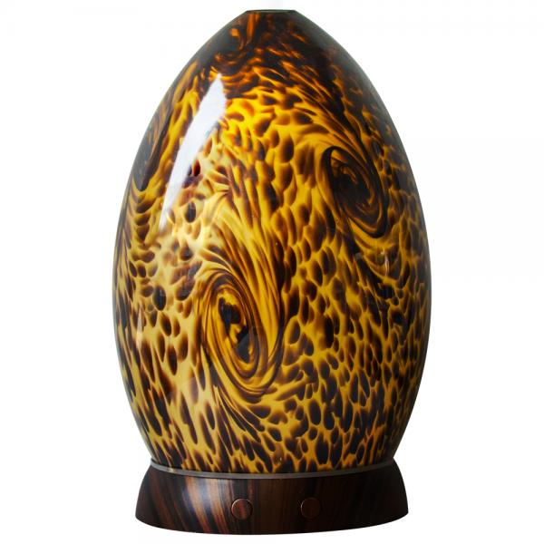 Amber Handblown Glass Diffuser Pure Joy Naturals