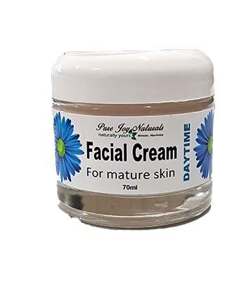 Moisturizer for mature skin, Pure Joy Naturals Day Cream, Facial Cream, Natural Facial Cream