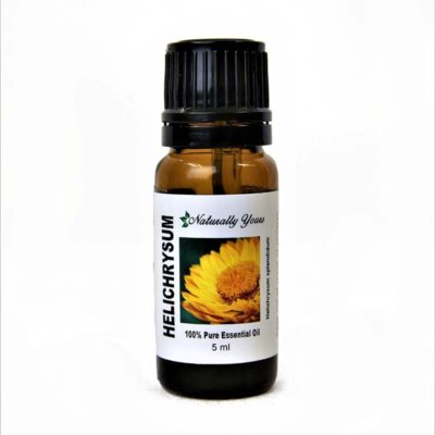 Helichrysum essential oil for healing