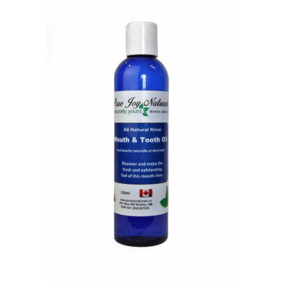 Mouth and Tooth Oil Rinse