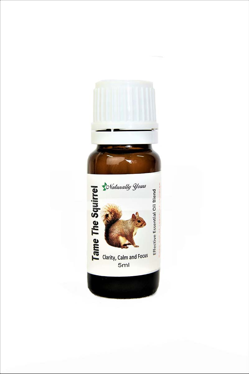 Tame the Squirrel focus essential oil blend