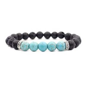 Pure Joy Naturals Aromatherapy Bracelet with lava stones, Bracelets for Aromatherapy, Essential Oil Bracelet