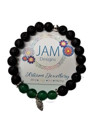 aromatherapy bracelet, lava bracelet